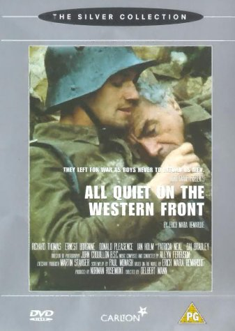 a review of all quiet on the western front a television film by delbert mann All quiet on the western front is a television film produced by itc entertainment, released on november 14, 1979, starring richard thomas as paul bäumer, and ernest borgnine as katczinsky it is based on the book of the same name by erich maria remarque.